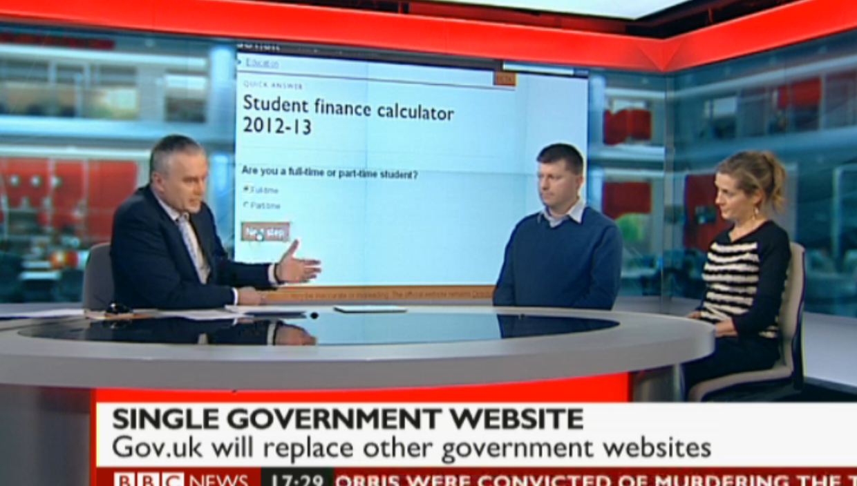 BBC News Photo: Digital Engagement For The Beta Release Of GOV.UK- Our