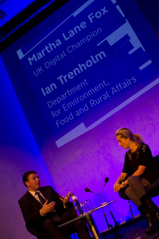 Martha does Q&A with Ian Trenholm