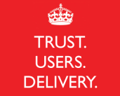 Trust. Users. Delivery.