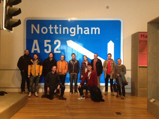 Design team at 'The design of everyday things'