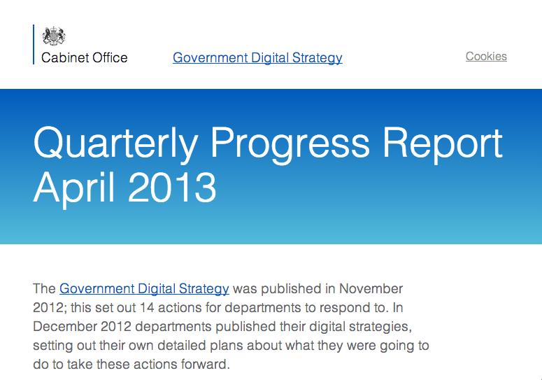 uk government digital strategy pdf