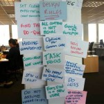Set of design rules created by the team responsible for producing the alpha of GOV.UK. Many moons later, variants of some of these rules turned up in the GDS Design Principles