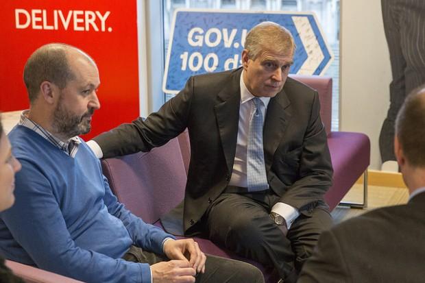 Duke of York visits GDS
