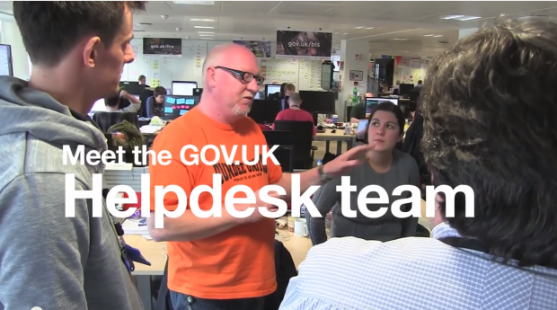 Meet the GOV.UK Helpdesk team