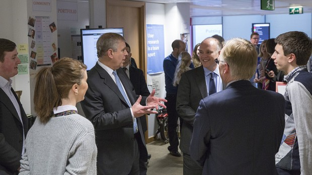 The Duke of York visits GDS
