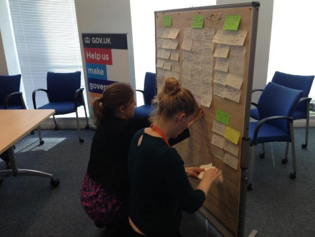 Demonstrating with users - Home Office guest blog on GDS