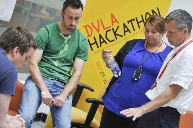DVLA Hackathon Day