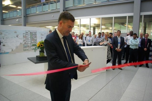 David Gauke opens the Digital Centre in Newcastle