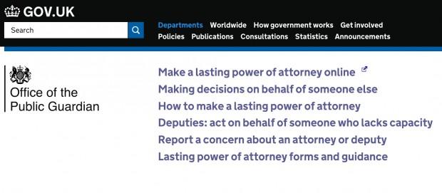 OPG on GOV.UK