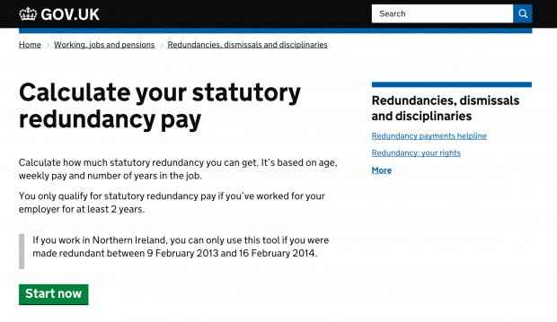 Redundancy payments - GOV.UK