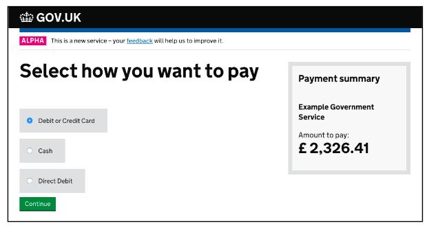 Payments screenshot 1