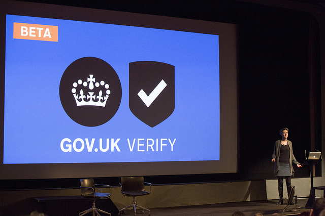 Programme Director Janet Hughes talking about GOV.UK Verify