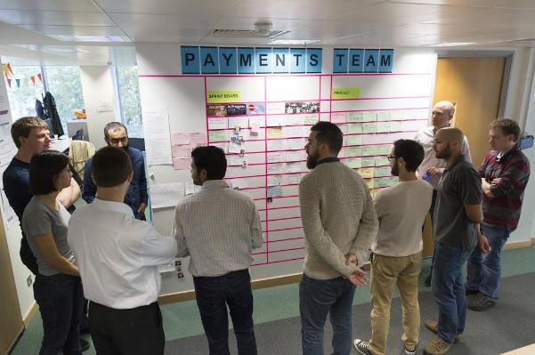 Payments team standup