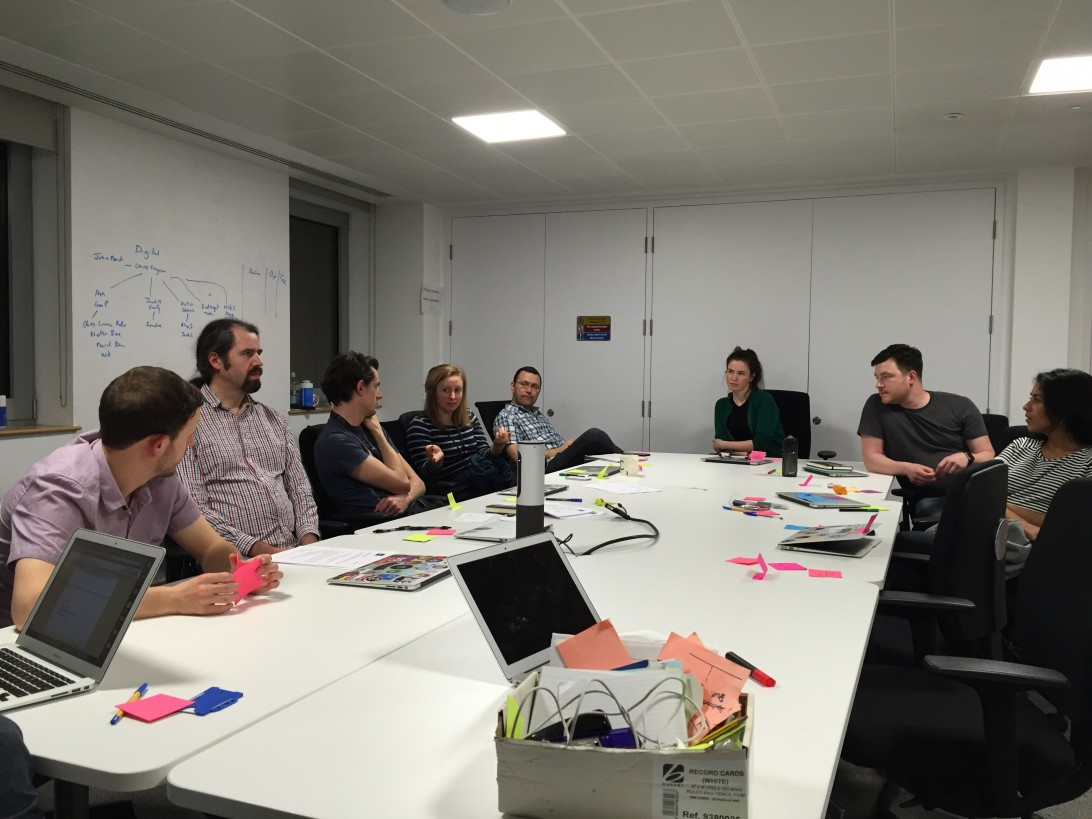 GDS People Board - first meeting