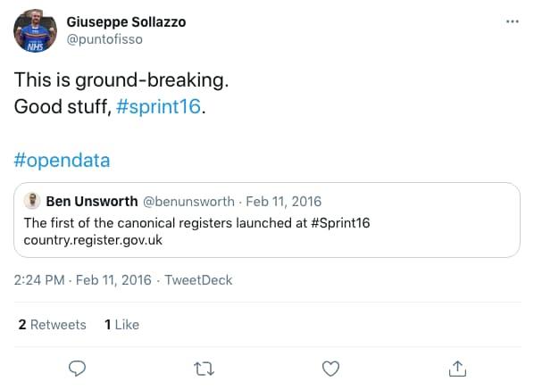 puntofisso tweeted at 2:24 PM · Feb 11, 2016 (tweet content below)