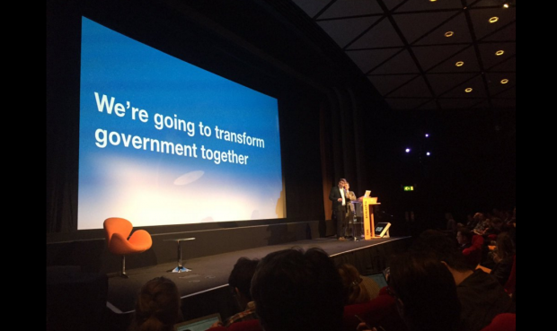 We're going to transform government together