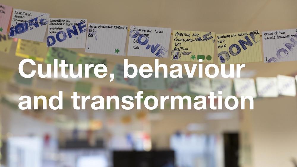 Culture, behaviour, and transformation slide