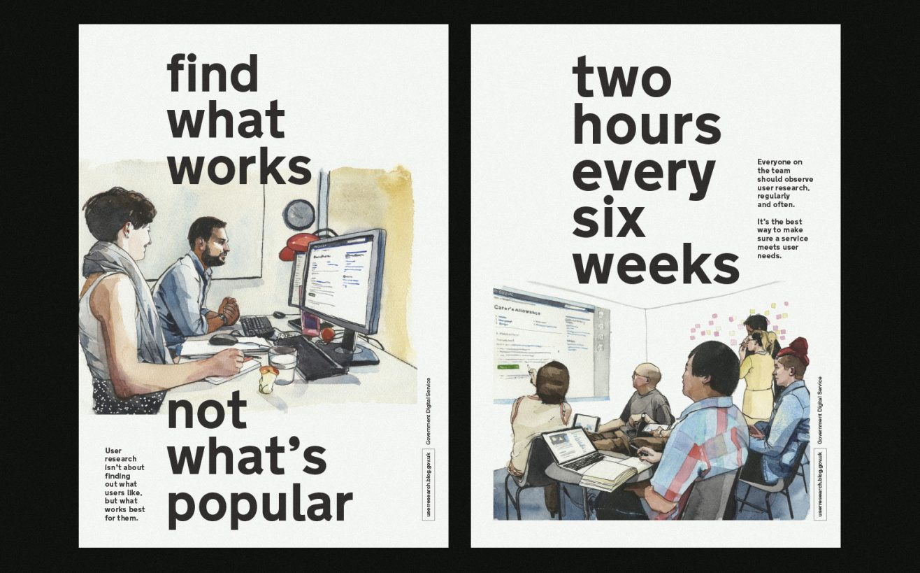 Posters for user research week