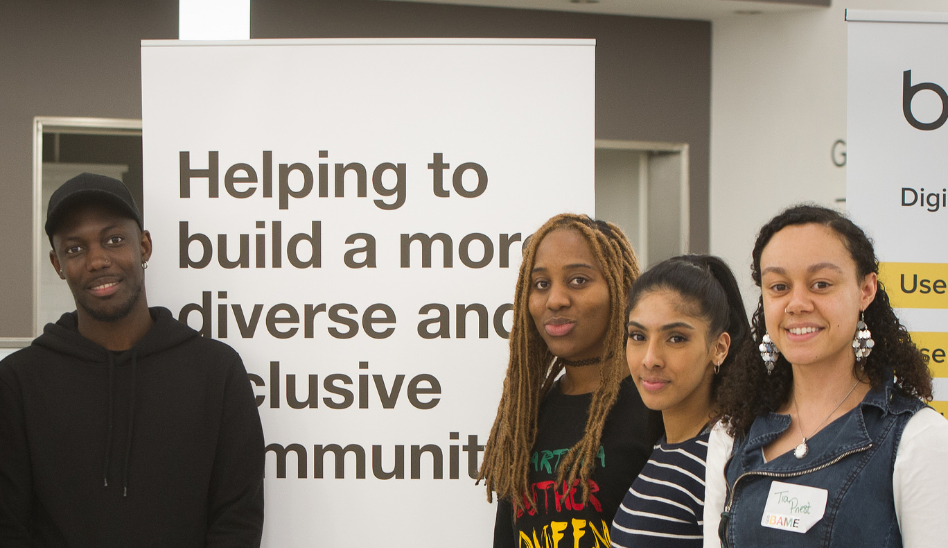 Members of the Black, Asian and Minority Ethnic network