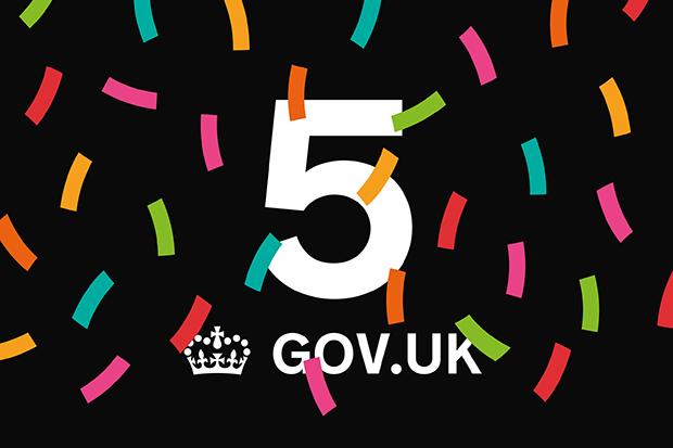 GOV.UK is 5