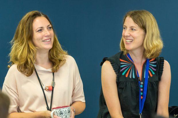 Hazel Hobbs and Emily Ackroyd - GDS Directors