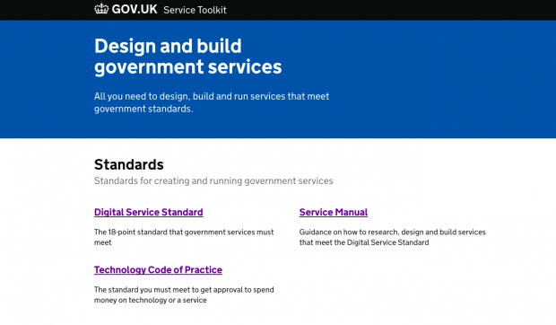 service toolkit homepage screenshot