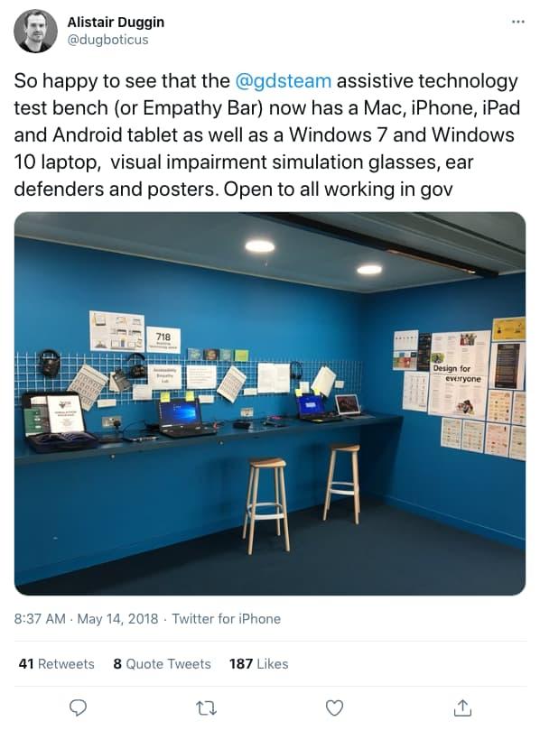 dugboticus tweeted at 8:37 AM · May 14, 2018 (tweet content below)