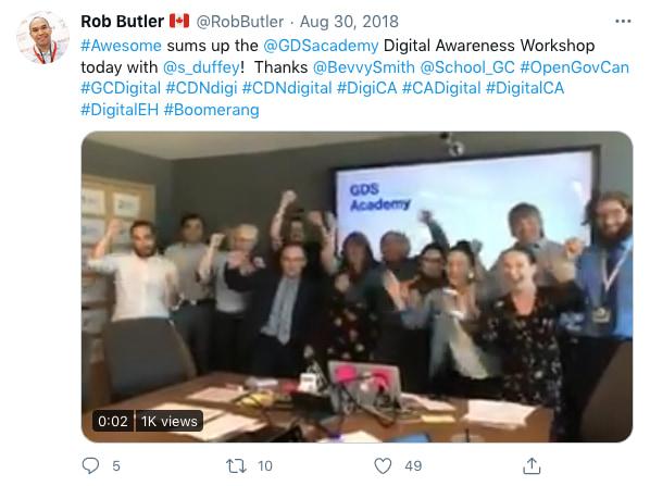 RobButler tweeted (tweet content below)