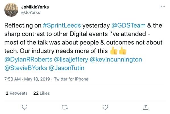 JoYorks tweeted at 7:50 AM · May 18, 2019 (tweet content below)