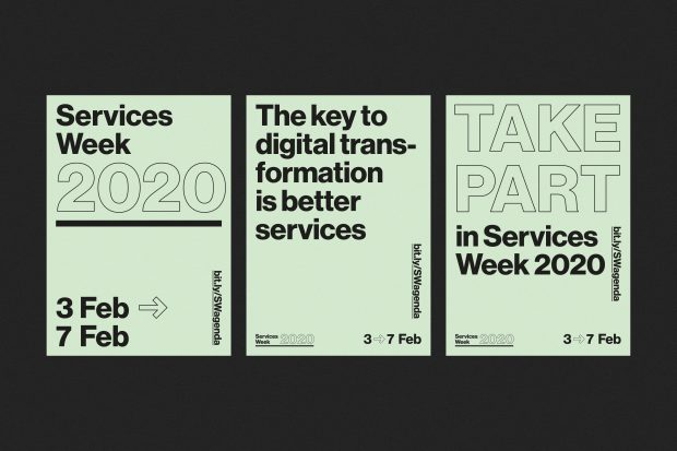 Services Week 2020 posters