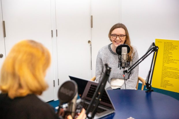Emma Lewis speaks to Laura Stevens for the Government Digital Service podcast on the GOV.UK Design System
