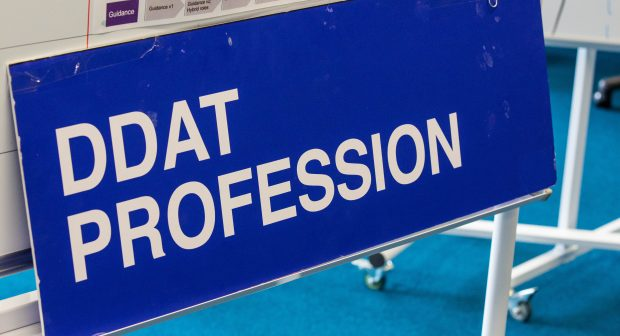 "A sign that says ""DDaT Profession"""
