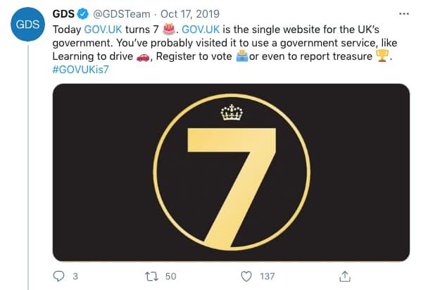GDSTeam tweeted (tweet content below)